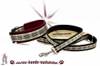 "Set > Halsband + Hundeleine CITY Design ""Scottish Style"""