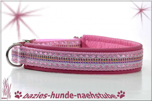 "Halsband ""Rainbow Diamond Pale Pink"""